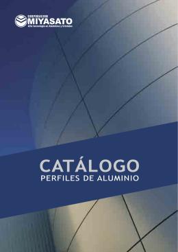 catálogo de aluminios