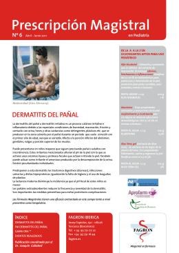 Prescripción Magistral en Pediatría nº 6.