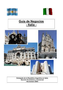 Guía de Negocios - Italia -