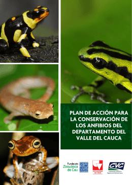 Plan de Acción para la Conservación de los Anfibios del