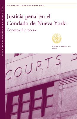 Justicia penal en el Condado de Nueva York: