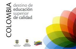COLOMBIA - Ministerio de Educación Nacional