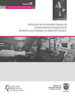 Guía 29 - Ministerio de Educación Nacional