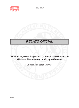 Colecistectomía Dificultosa - Asociación Argentina de Médicos