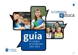 de colegios de Alcobendas 2015-2016