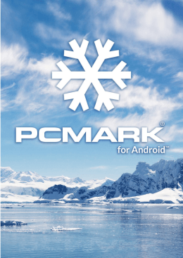 PCMark for Android technical guide