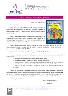 Encuentro Familia Marista 2015 - Maristas