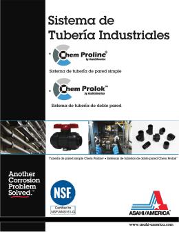 Sistema de Tubería Industriales