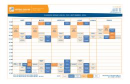 CLASES DE VERANO (JULIO 4, 2015 –SEPTIEMBRE 4, 2015)