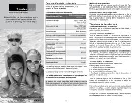 Travel Insurance | Descripción de la cobertura | Aulani Hawaii Resort