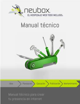 1 Introducción al Manual Técnico