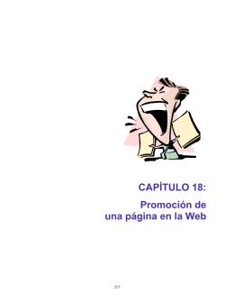 CAPÍTULO 18: Promoción de una página en la Web