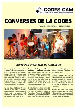 PREPARACIO MEMÒRIA CODES CAM 2007