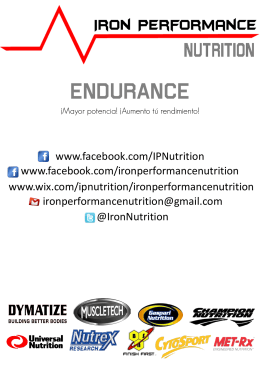 Endurance - WordPress.com