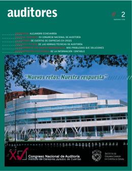 Revista Auditores nº 2 Septiembre 2006