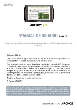 MANUAL DE USUARIO Versión 2.0