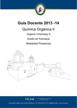 Guía Docente 2013 -14