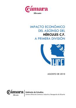 IMPACTO ECONÓMICO DEL ASCENSO DEL HÉRCULES C.F. A