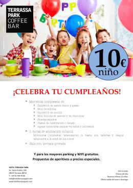 ¡celebra tu cumpleaños! 10
