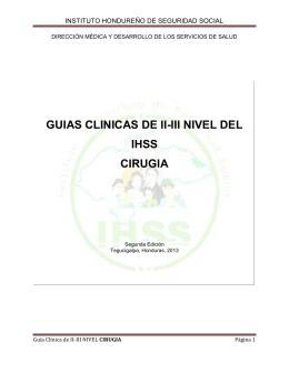 Guía Clínica de Cirugia