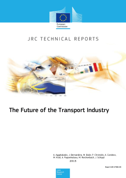 The Future of the Transport Industry
