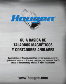 GUÍA BÁSICA DE TALADROS MAGNÉTICOS Y