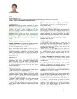 Dra. Graciela Jasa Silveira Estudios realizados Licenciatura