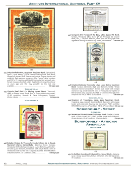 African American Archives International Auctions, Part XV