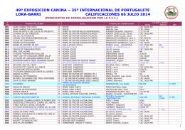 35ª internacional de portugalete lora