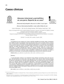 Casos clínicos - Universidad de Antioquia