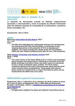 Nota mensual noviembre 2014