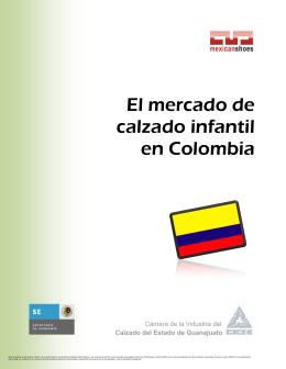 El mercado de calzado infantil en Colombia