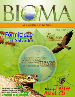 Revista BIOMA Noviembre 2012