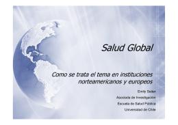 Salud Global - Universidad de Chile