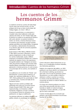 hermanos Grimm - Victorian Association for Teachers of Spanish