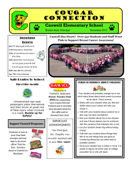Cougar Connection - Caswell Elementary