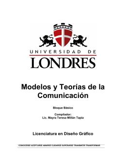 Modelos y Teorías de la Comunicación