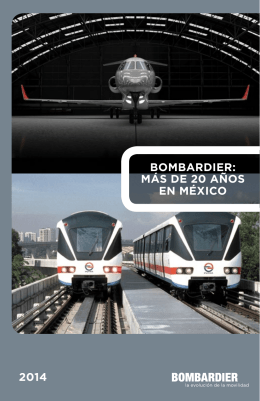 Bombardier in Mexico 2014