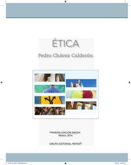 ÉTICA - Grupo Editorial Patria