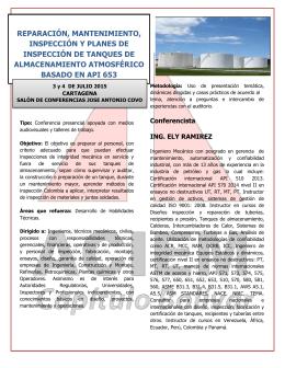 Ficha Tecnica Reparacion Mtto. Inspeccion Tanques