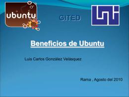 Uso de CD Live de UBUNTU