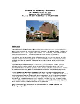 Hampton Inn Monterrey – Aeropuerto