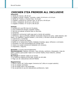 chichen itza premier all inclusive