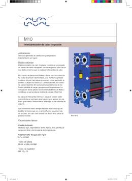 Catálogo modelo M10 - T