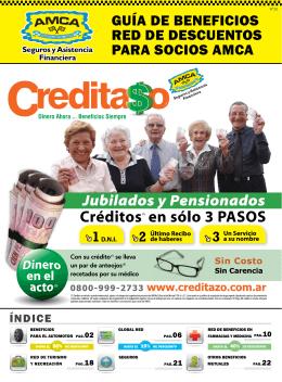gUíA de beneficiOS Red de deScUenTOS pARA SOciOS AMcA