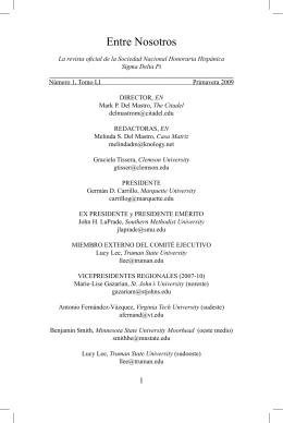 Edición Primaveral 2009