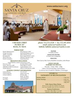 Padre Kirby - Santa Cruz Catholic Church