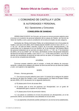 BOCYL n.º 136 16-julio-2010 - Federación de Servicios a la