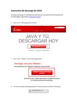 Cómo descargar Java