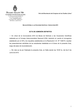 Definitiva - Universidad Nacional de Salta